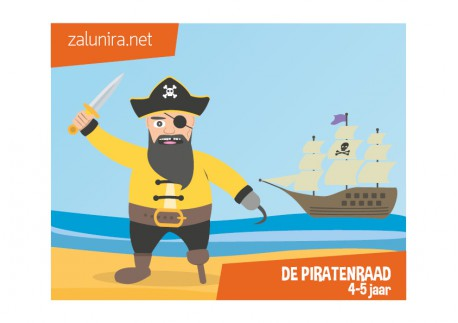 De piratenraad - 4-5 jaar