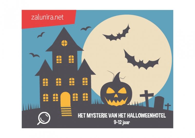 Raadsels Halloween.Het Mysterie Van Het Halloweenhotel 9 12 Jaar Zalunira